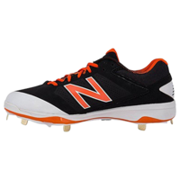 New Balance L4040v3 Metal Cleats - Orange