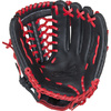 Rawlings RCS 11.75 Inch Youth Glove Black / Scarlet