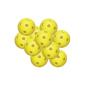 "12"" Plastic Practice Ball - 6 Pack"