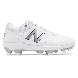 New Balance Fuse2 TPU Moulded Womens Cleats White with Silver
